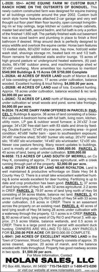Acre Equine Farm