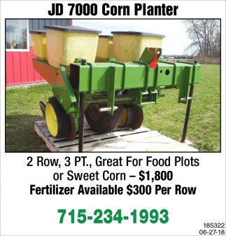 JD 7000 Corn Planter