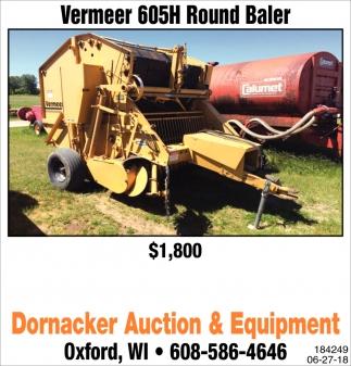 Vermeer 605H Round Baler