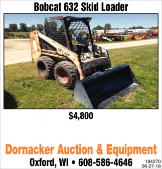 Bobcat 632 Skid Loader
