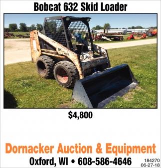 Bobcat 632 Skid Loader
