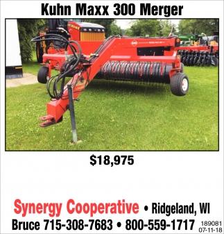 Kuhn Maxx 300 Merger