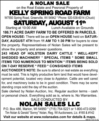 Kelly Spring Road Farm