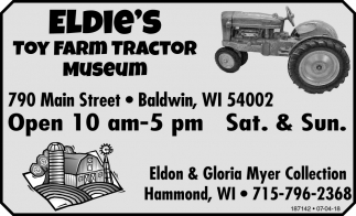 Toy Farm Tractor Museum