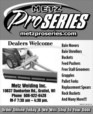 Dealers Welcome
