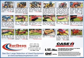 See Our Large Selection of Used Equipment