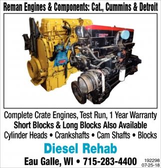 Reman Engines & Components