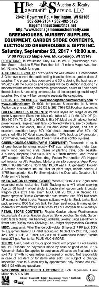 Bob Hagemann Auction & Realty Service, LLC