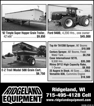 '92 Timpte Super Hopper Grain Trailer