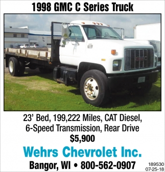 1998 GMC C Series Truck