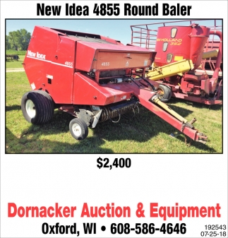 New Idea 4855 Round Baler