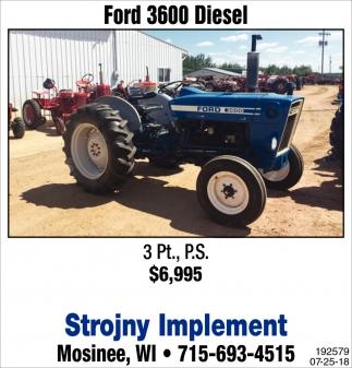 Ford 3600 Diesel