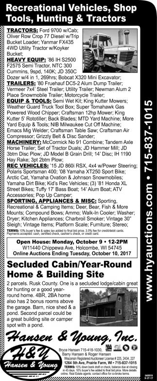 Sept. Farm Consignment