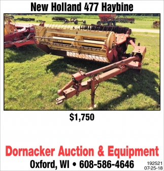 New Holland 477 Haybine