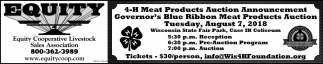 4-H Meat Products Auction