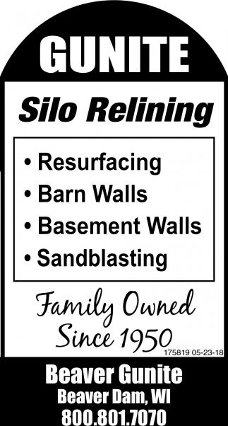 Silo Relining