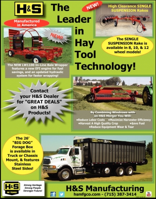 The Leader in Hay Tool Technology!
