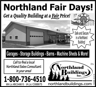 Get aQuality Building at a Fair Price!