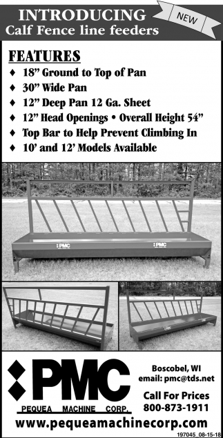 Introducing Calf Fence Line Feeders