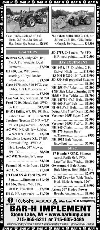 Case IH 65A