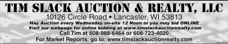 Auction Every Wednesday
