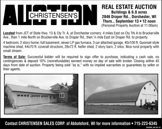 Christensen's Auction