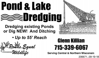 Pond & Lake Dredging