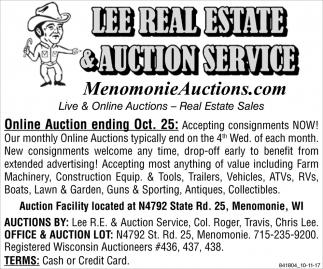 Menomonie Auctions