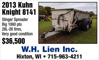 2013 Kuhn Knight 8124