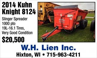 2014 Kuhn Knight 8124
