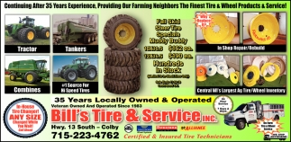35 Years Locally Owned & Operated
