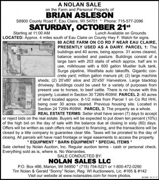 A Nolan Sale