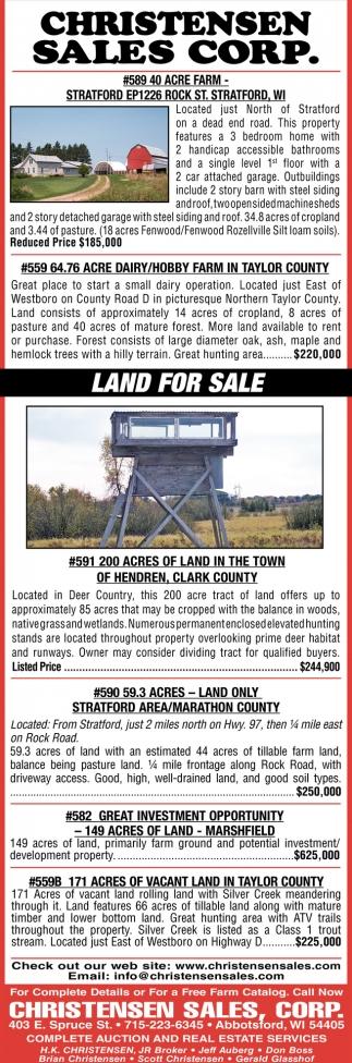#589 40 Acres Farm