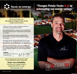 Paragon Potato Farms is in By Automating Our Energy Savings