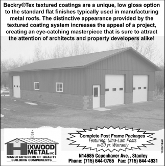 Beckry Tex Textured Coatings