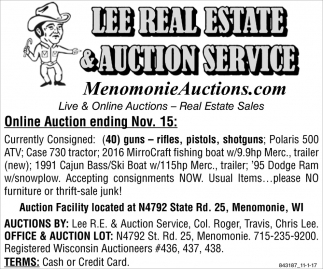 Lee Real Estate & Auction Service