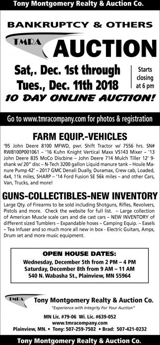 Farm Equip. - Vehicles