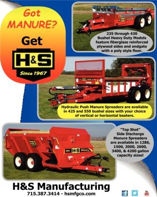 Got Manure? Get H&S