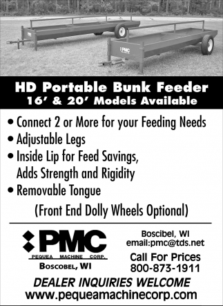 HD Portable Bunk Feeder