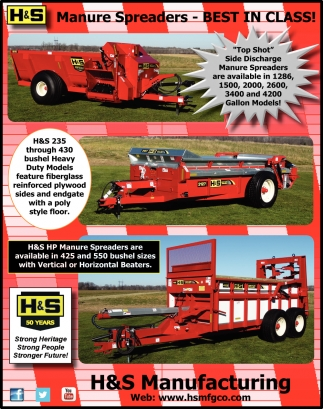 Manure Spreaders - Best in Class!
