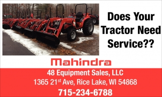 Does Your Tractor Need Service?