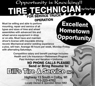 Tire Technician