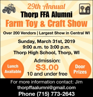 Farm Toy & Craft Show