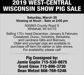 Pig Sale