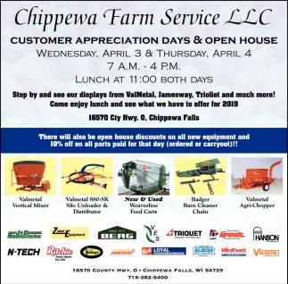 Chippewa Farm Service, LLC