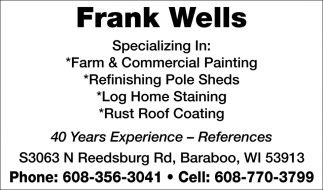 Farm & Commercial Painting