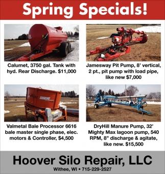 Spring Specials!