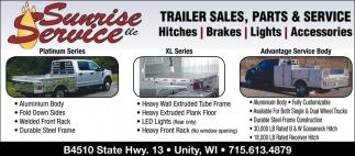 Trailer Sales, Parts & Service