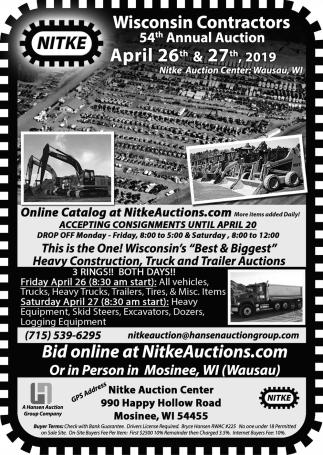 54th Annual Auction