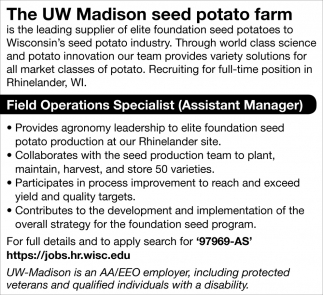 Field Operations Specialist
